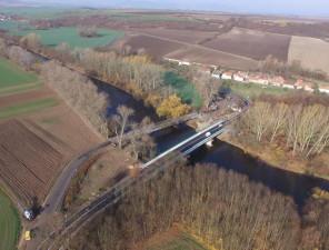 REKO Komunikace Budyně n. O. - Koštice a most Břežany